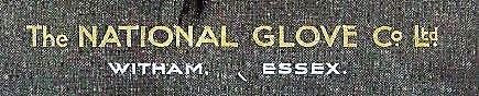 The National Glove Cc trade mark