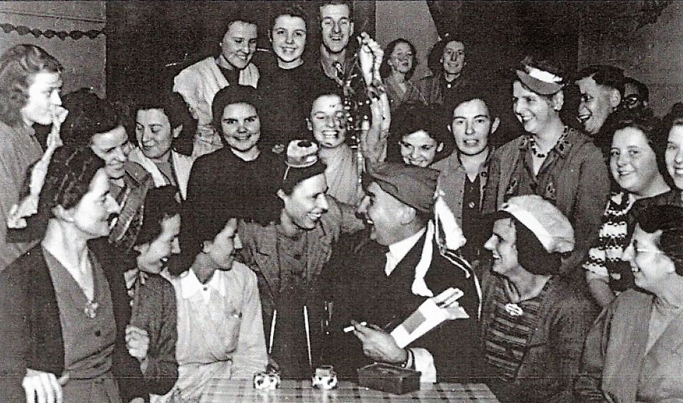 a factory party 1940 pic