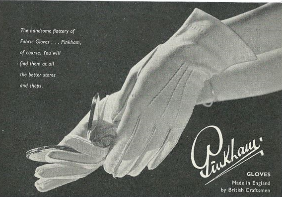 pinkham gloves ad
