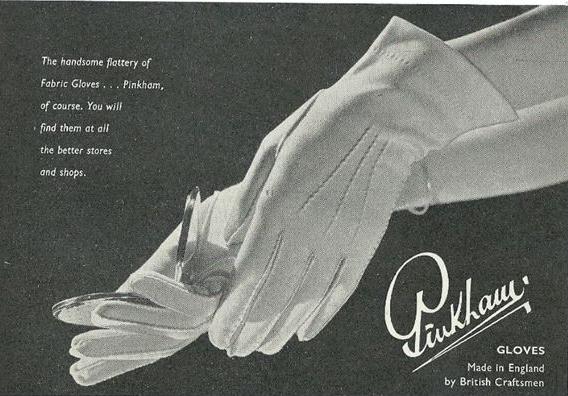 pinkham gloves ad