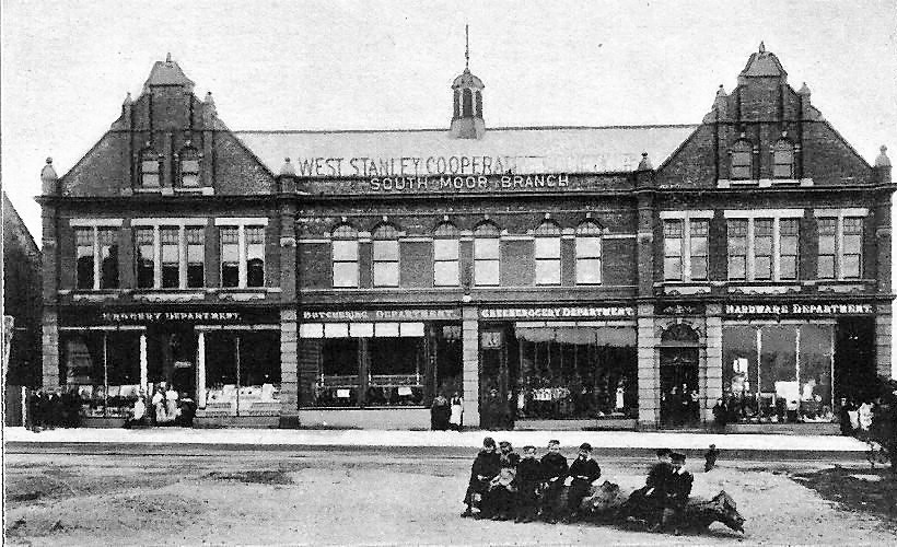 Co-op Store opened August 18th 1900