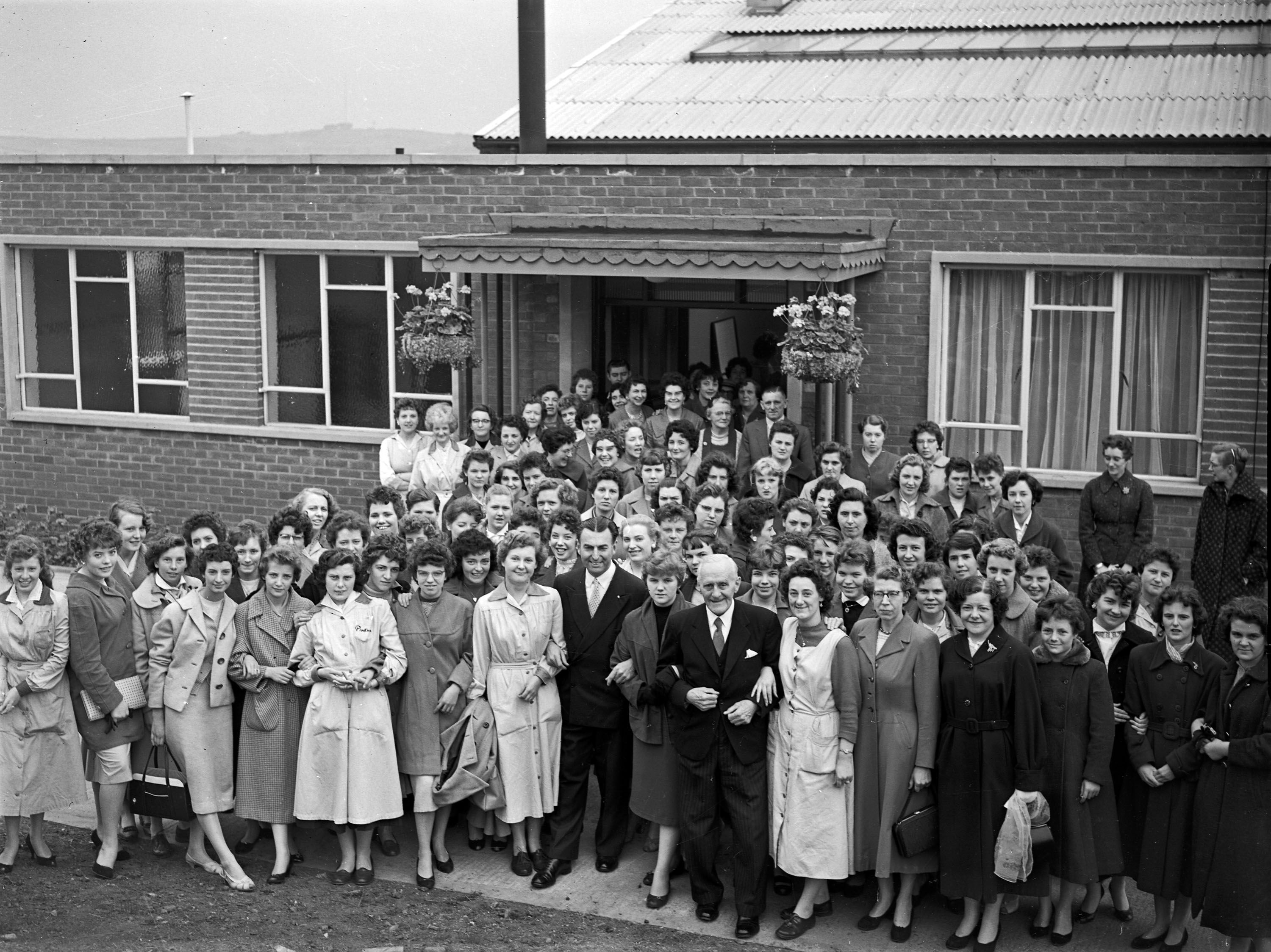 15. 1959 June 18th opening of Glove Factory stanley.