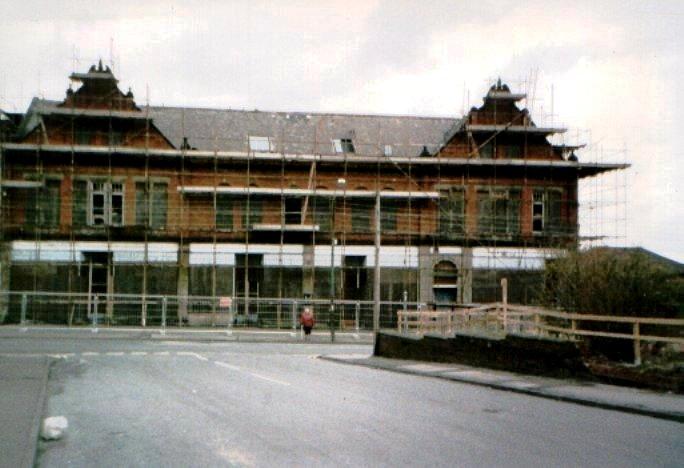 Demolition in 1996