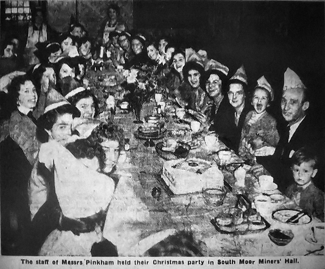 Christmas Party 1955