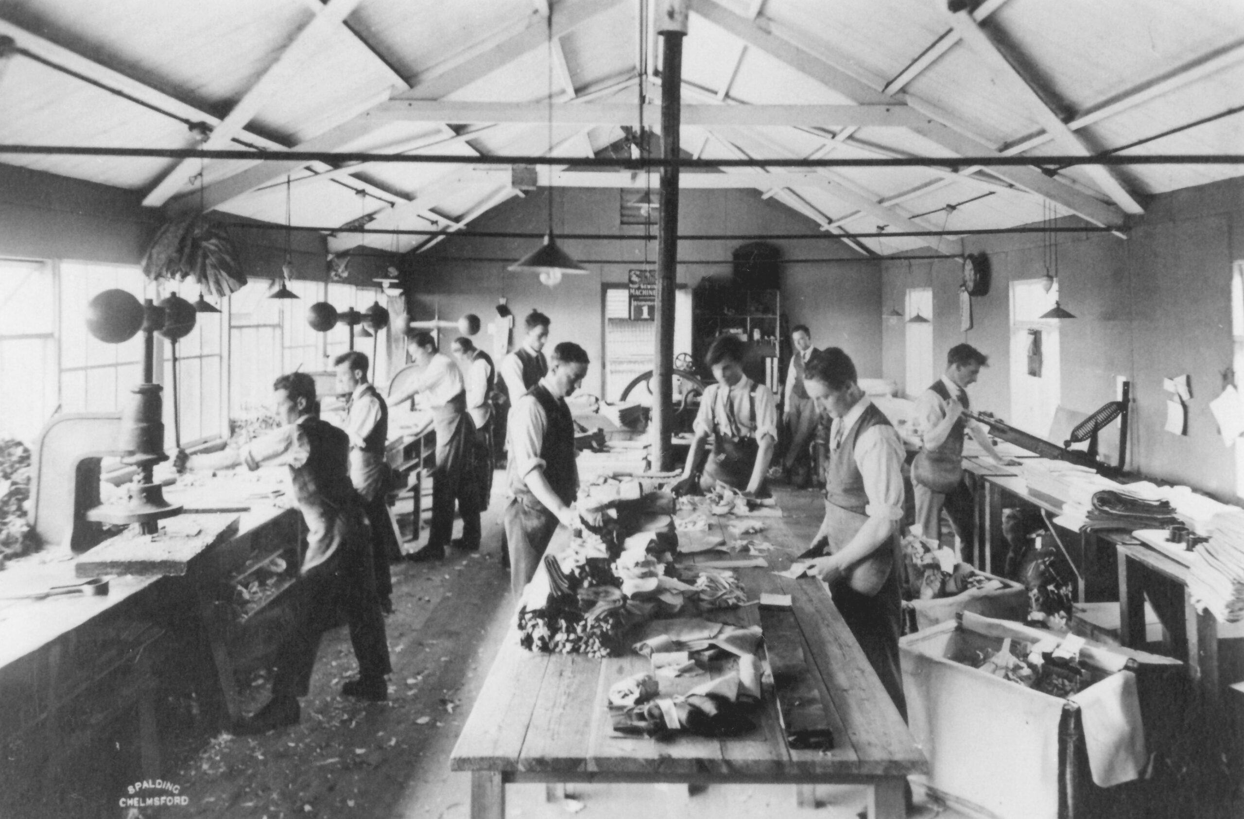Witham cutting room 1924