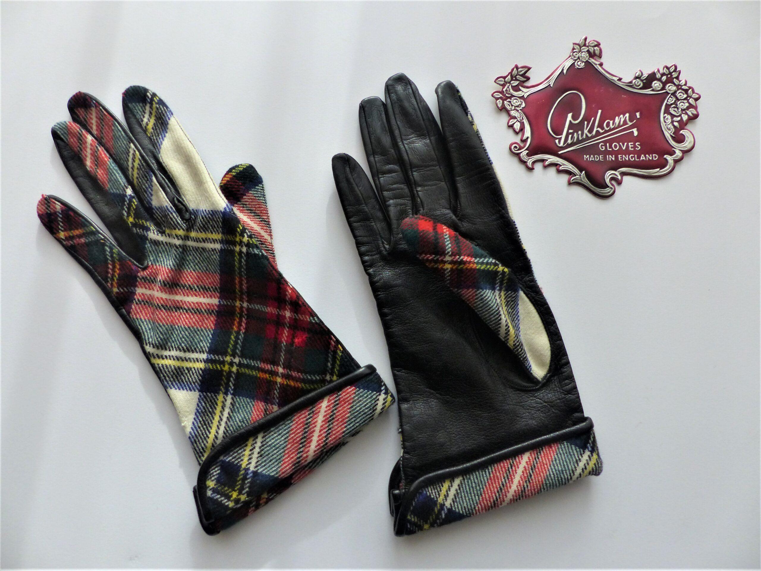 tartan & leather